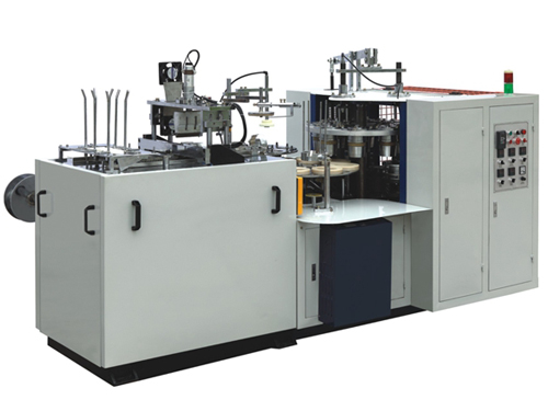 MB-S35 Ultrasonic Double PE Coated Paper Bowl Machine